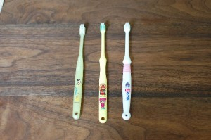 保有歯ブラシ