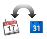 iCal、Googleカレンダー同期