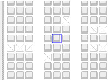 エアアジア座席表