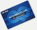 AOYAMA CLUB カード