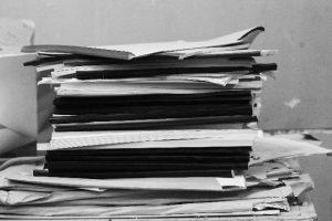 紙の資料を全てデジタル化
