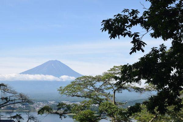 星のや富士からの富士山